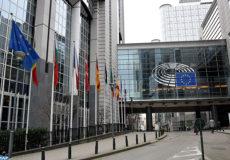 Siège du parlement européen à Bruxelles
