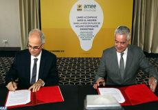 Signature de Convention entree Barid Al Maghrib et AMEE - ECO