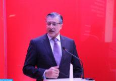 """Le Directeur général de l'Agence internationale de l'énergie renouvelable (IRENA), Adnan Amin , Intervenant lors d'un side Event sur le thème: """"le Maroc, un pays modèle par sa transition énergétique en faveur du climat"""" dans le cadre de la COP 21."""