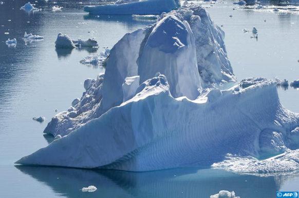 calotte glaciaire du Groenland