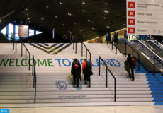 epa07207738 Guests arrive at the 'Spodek' multipurpose arena complex prior to the COP24 summit in Katowice, Poland, 04 December 2018. The COP (Conference of the Parties) summit is the highest body of the UN Framework Convention on Climate Change (UNFCC). Expected at the meeting are close to 30,000 delegates from all over the world, including government leaders and ministers responsible for environmental policy.  EPA-EFE/ANDRZEJ GRYGIEL POLAND OUT