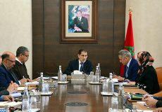 """Tenue, vendredi (14/12/18) à Rabat, d'une réunion ministérielle consacrée à l'examen du projet de promotion des """"voitures vertes"""", présidée par le Chef du gouvernement, Saâd Dine El Otmani."""