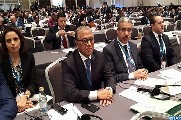 AG de l'Agence internationale des énergies renouvelables à Abou Dhabi ECO