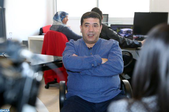 L'architecte marocain Aziz Menane accorde un entretien à la MAP à l'occasion de la journée nationale de l'architecte célébrée le 14 janvier