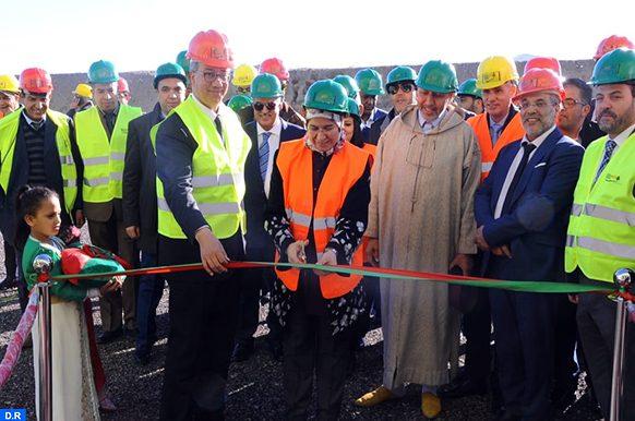 Marrakech - travaux au centre d'Enfouissement et de valorisation des déchets ménagers - MAP ECO
