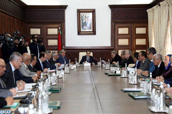 Réunion, jeudi (03/01/19) à Rabat, du Conseil de gouvernement sous la présidence du Chef du gouvernement, Saâd-Eddine El Otmani.