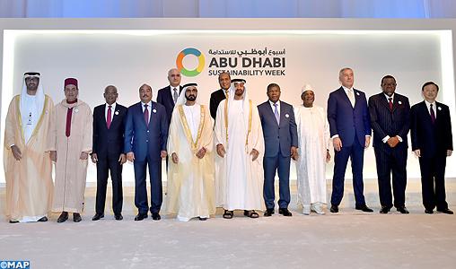 SAR le Prince Moulay Rachid représente SM le Roi à la cérémonie d'ouverture de la Semaine de la durabilité d'Abu Dhabi-M