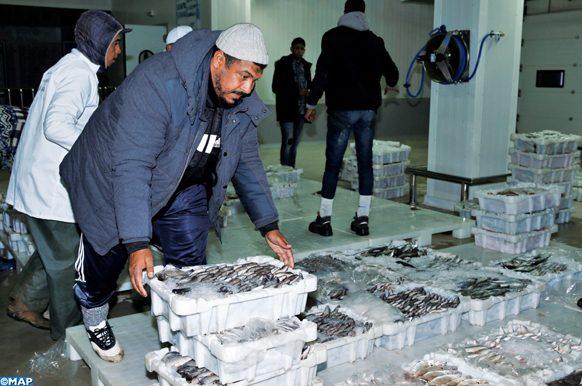 Mise en service, mardi (10/04/18) du nouveau marché de gros au poisson deTamesna, Fruit d'un partenariat avec les communes de Rabat et de Sidi Yahia Zaer, ce marché de gros au poisson a été construit sur une superficie de 2 hectares, dont près de 4.000 m2 couverts, pour un investissement total de 71 millions de dirhams, financé par le Millenium challenge corporation (MCC) dans le cadre de la coopération entre le Maroc et les Etats-Unis.