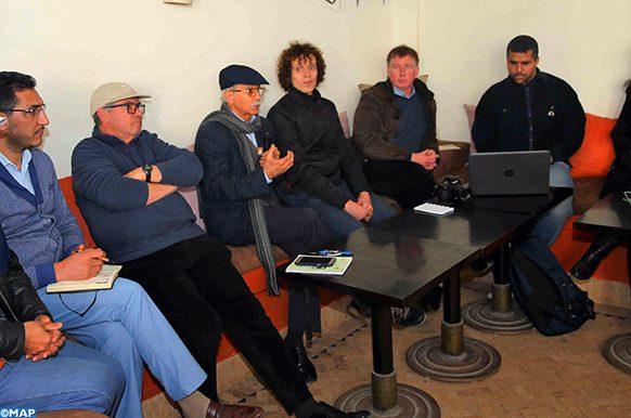 Bouknadel Atelier sensibilisation changements climatiques fondation Mohamed V- Ecology