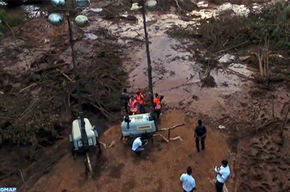 Brésil Epidémie suite effondrement barragede Brumadinho- MAP ECO