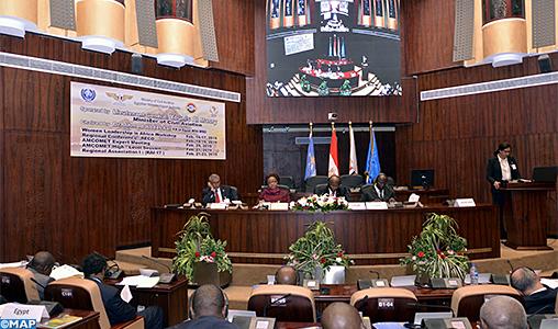 Le Caire-congres des ministres africains-Meteo-M