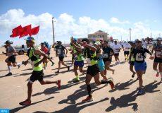 Le Dakhla Desert Trail 2016 organisé, dimanche (06/11/16), à l'occasion de la célébration du 41ème anniversaire de la Marche Verte, en partenariat avec la wilaya de la région Dakhla Oued Eddahab, la commune rurale d'El Argoub, la municipalité de Dakhla, le conseil provincial de Oued Dahab et le ministère de la Jeunesse et des Sports.