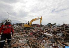 catastrophes naturelles en Indoénsie