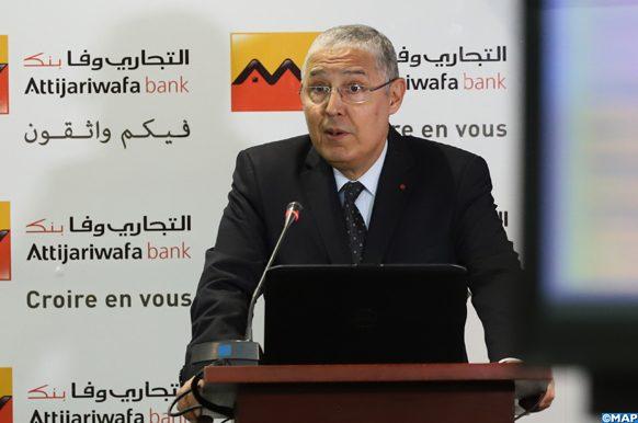 Le Groupe Attijariwafa Bank a tenu, mercredi (20/03/19) à Casablanca, une conférence de presse dédiée à la présentation des résultats annuels au titre de l'exercice 2018, en présence de son directeur général Mohamed El Kettani.