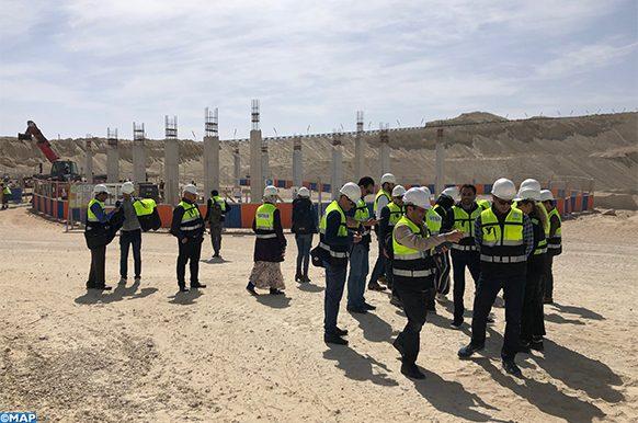 El Marsa-visite groupe de journalistes-ECOLOGIE