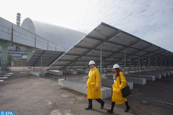 centrales électro-solaires en Ukraine