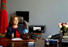 Malika Belkouadssi, une des ingénieures pionnières de l'ONEE,