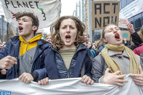 mobilisation contre la loi sur le climat