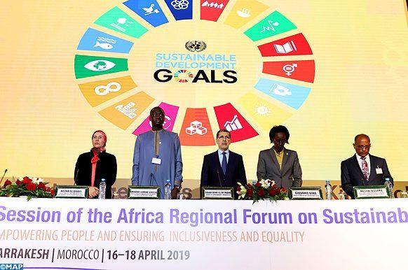 Les travaux de la cinquième session du Forum Régional Africain sur le Développement Durable (FRADD) ont démarré, mercredi (17/04/19) à Marrakech, en présence du Chef du gouvernement, M. Saâd Dine El Otmani.