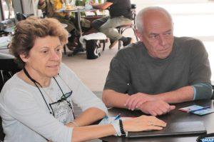 A gauche Mme Elizabeth Tabone, responsable du laboratoire Biocontrol de l'Institut national de la recherche agronomique d'Antibes dan un entretien accordé à la MAP.