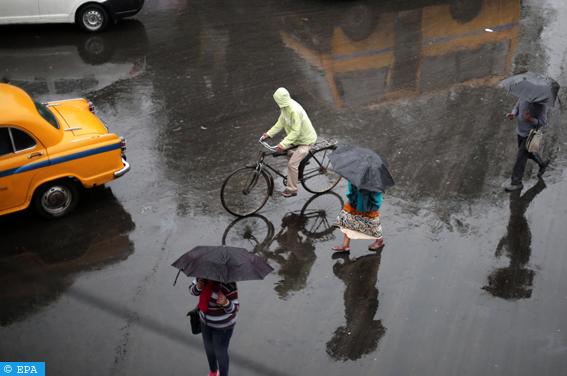 الأمطار الموسمية بالهند