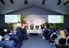 Le Secrétaire d'État chargé du développement rural et des eaux et forêts, Hamou Ouheli, intervenant, mercredi (17/04/19) à Meknès, lors d'une conférence sur l'emploi dans le secteur agricole, agro-alimentaire et secteurs associés, dans le cadre de la 14ème édition du Salon International de l'Agriculture au Maroc (SIAM 2019).