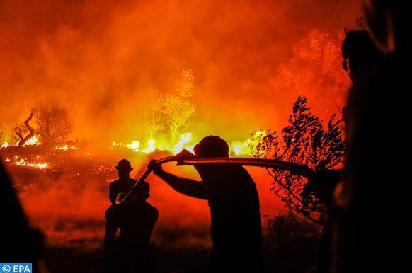 lutte contre les incendies au Portugal