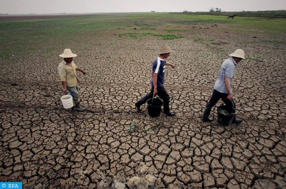 الجفاف بالصين