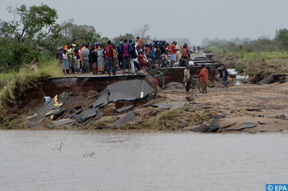 Bénin risques d'inondations