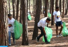Une campagne de nettoyage et de sensibilisation a été organisée, samedi (15/09/18) à la forêt de Bouscoura, à l'occasion de la célébration de la journée internationale du nettoyage, célébrée le 15 septembre de chaque année.