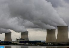 epa07207938 General view of the nuclear power plant in Cattenom, France, 04 December 2018. The Cattenom Nuclear Power Plant is located about 5 km from Thionville (Moselle, north France).  EPA-EFE/JULIEN WARNAND