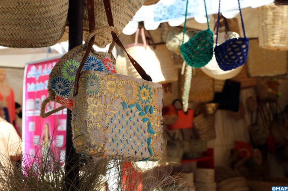 Ouverture, lundi (06/05/2019) à Rabat, d'une foire de l'artisanat avec 48 exposants, en présence de Madame Jamila El Moussali, secrétaire d'Etat chargée de l'Artisanat et de l'économie sociale.