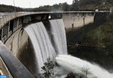baisse du niveau d'eau