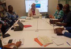 New York ONU El Ouafi préside réunion bureau FRADD - Ecology