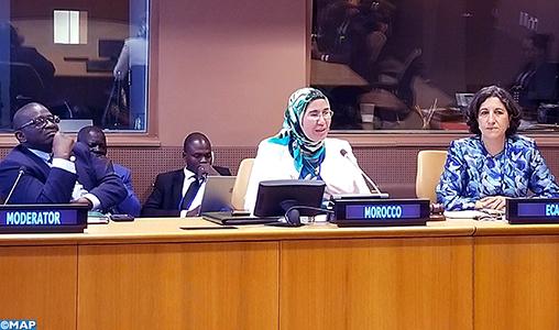 ONU Maroc evt parallèle Financement DD El Ouafi - M