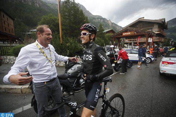 Tour de France: arrêt de la 19è étape après une averse de grêle