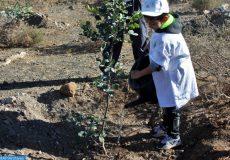 Environnement reboisement enfants carbon émissions CO2