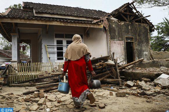 séisme en mer (Indonésie), le 02 août 2019