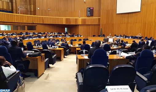 Addis- Abeba CPS de l'UA- M