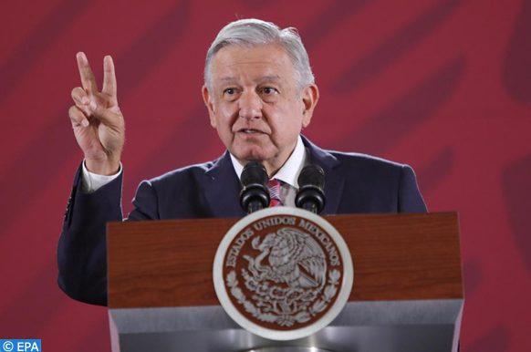 Le président mexicain