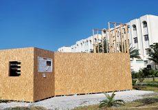 Projet Tdart Maison écologique Réalisé par les étudiants de l'ENSA et FST de Tanger-M