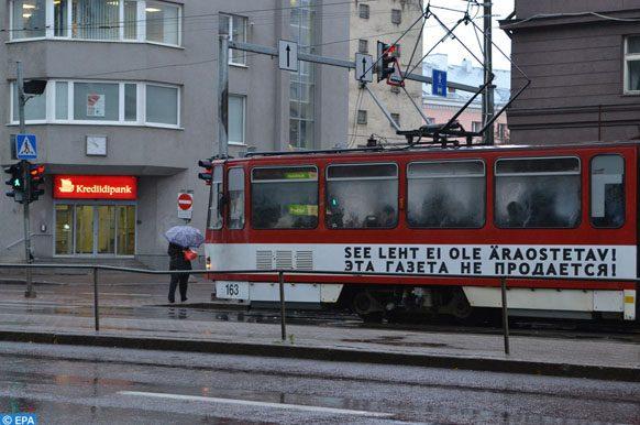 Tramway de Tallinn transports