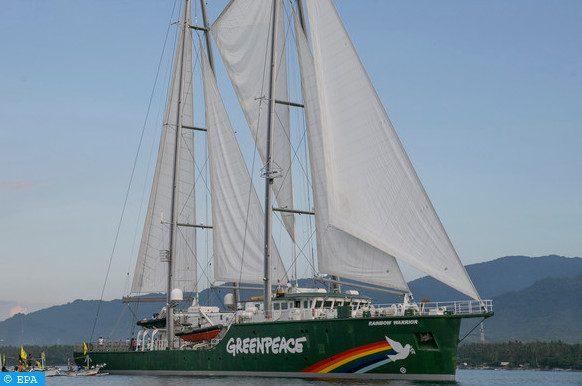 Greenpeace Rainbow Warrior
