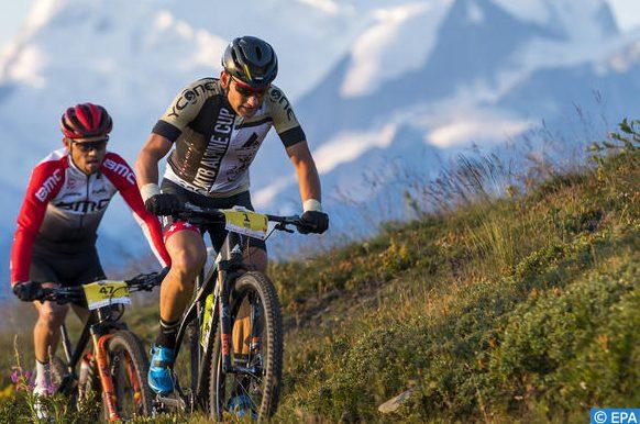 course de vélo de montagne