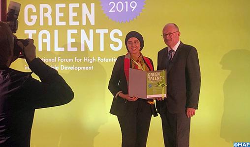 Berlin Karima Azhari remporte le Green Talent Award-M