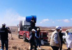 Goulmeim -Lancement d'unités mobiles de stérilisation- moyens de transport transportant des cactus-M ECOLOGY-