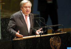 الأمين العام للأمم المتحدة يؤكد أن الاستجابة لأزمة المناخ تقتضي تضامنا عالميا