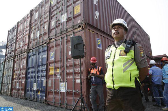 déchets importés aux ports du Vietnam