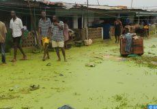 pluies torrentielles au Ghana