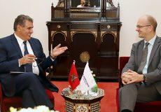 Marrakech bilatérale entre Akhannouch et les représentants de la banque mondiale-M